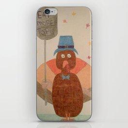 """Eat More Tofu"" Turkey iPhone Skin"