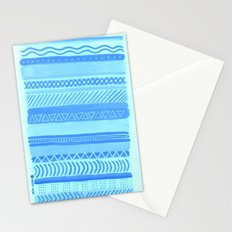 Tribal#1 (Blue) Stationery Cards