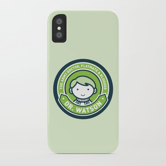Cute John Watson - Green iPhone Case