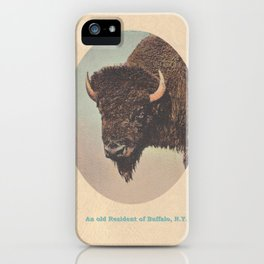 An old Resident of Buffalo, New York iPhone Case