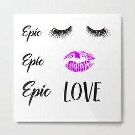 Epic Love Metal Print