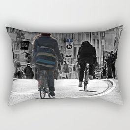 basel street art Rectangular Pillow