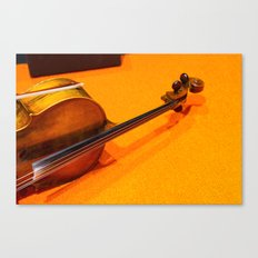 Violin on the Floor Canvas Print