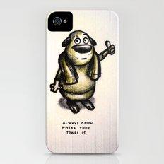 Towel Day :) Slim Case iPhone (4, 4s)