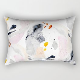thoughtform - abstract painting Rectangular Pillow