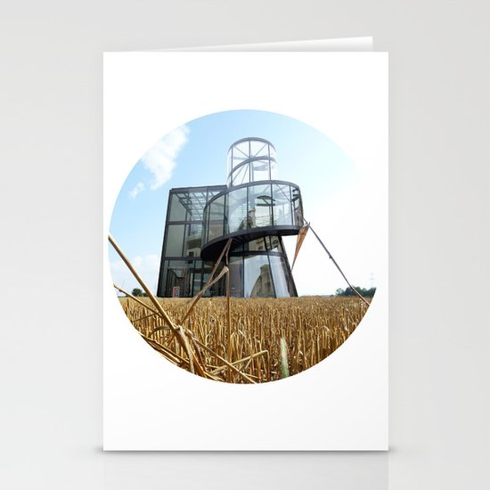 Surreal CityLand Collage 6 Stationery Cards