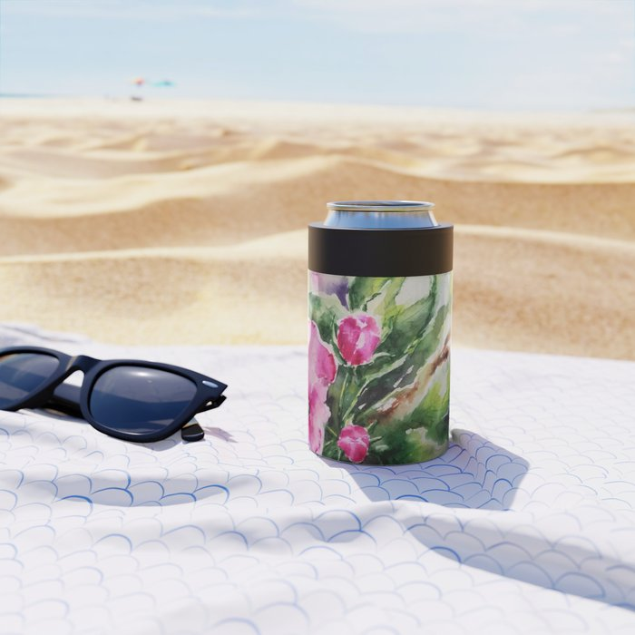 Cherry Blossom Can Cooler