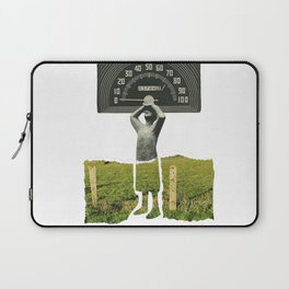 Don't Let The Speed Of Time, Fence You In...... Laptop Sleeve
