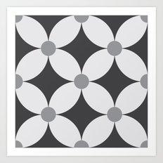 Pattern Tile 2.1 Art Print