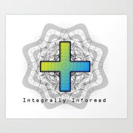 Integrally Informed Art Print