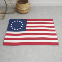 Betsy Ross flag of the USA Rug