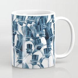 A Gathering of Gentlemen (square format) Coffee Mug