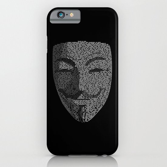 ...You May Call Me 'V' – So who's Anonymous? iPhone & iPod Case