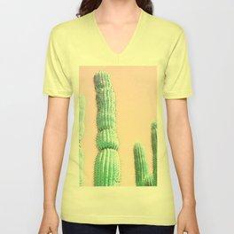 Cactus Pop Unisex V-Neck