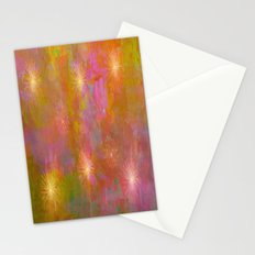 Starburst Abstract Stationery Cards