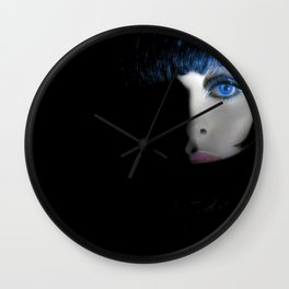 """""""THE PASSERBY"""" Wall Clock"""