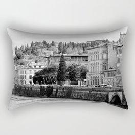 Over the Arno (2) Rectangular Pillow