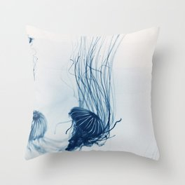 Deep Blue Sea #3 Throw Pillow
