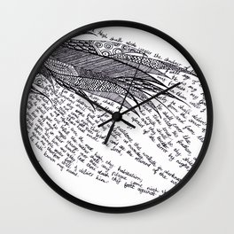 Psalm 91 Wall Clock