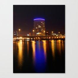 Obel Tower, Belfast Canvas Print