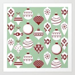 Ornaments 2.0 Art Print