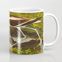 American Avocet Vintage Bird Illustration Coffee Mug