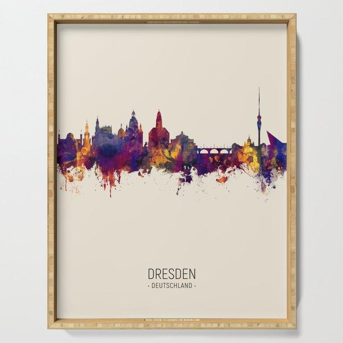 Dresden Germany Skyline Serving Tray
