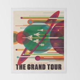 The Grand Tour Throw Blanket
