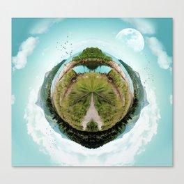 Nano Isle Canvas Print