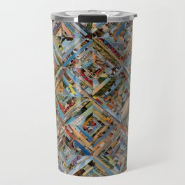 Texas Kaleidoscope Travel Mug