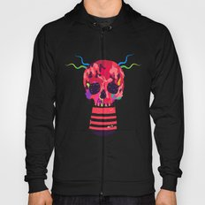 RED RED RED Cranium Hoody