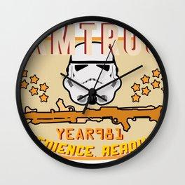 Stormtrooper College Tee Wall Clock