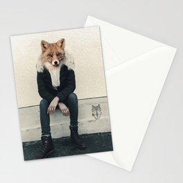 Fox head Stationery Cards