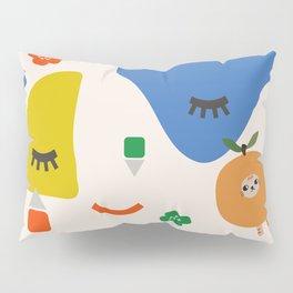 orange cat Pillow Sham