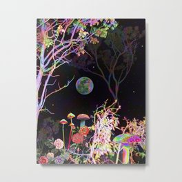 Colorful Night Metal Print