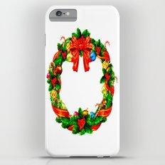 Christmas Wreath iPhone 6 Plus Slim Case