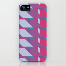 Abstract Drama #society6 #violet #pattern iPhone Case