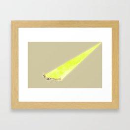 Sun Scan Framed Art Print