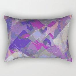 Moon Beam Abstract Rectangular Pillow