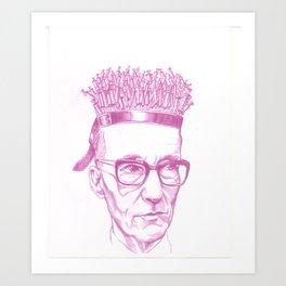 Burroughs Art Print