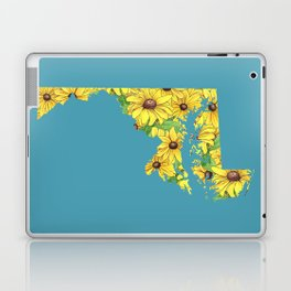 Maryland in Flowers Laptop & iPad Skin