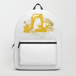 Excavator Vehicle Backpack