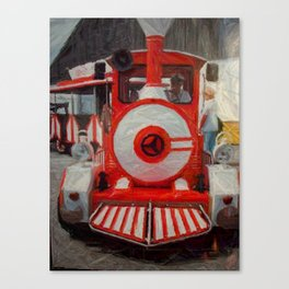 Seaside Express Canvas Print