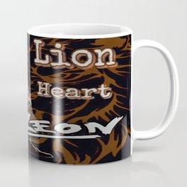 Leon The Lion Heart Coffee Mug