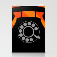 telephone Stationery Cards featuring telephone by vitamin