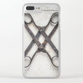 Scissoring Clear iPhone Case