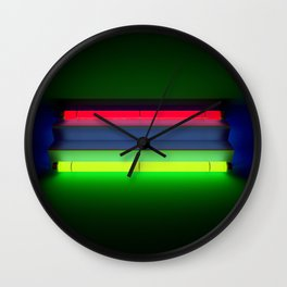 Neon Room Part 2 Wall Clock