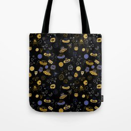Don't be blue, we are all a little alien Tote Bag