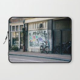 Streets of Amsterdam Laptop Sleeve