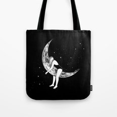 Moon Lover Tote Bag